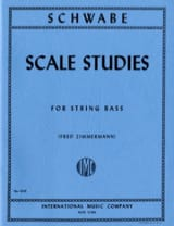 Scale Studies – String bass - Oswald Schwabe - laflutedepan.com