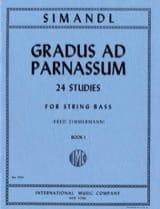 Gradus ad Parnassum, Volume 1 – String bass - laflutedepan.com