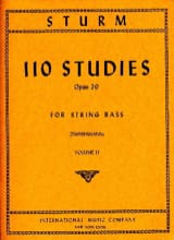 110 Studies op. 20, Volume 2 – String bass - laflutedepan.com
