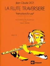 La flute traversière - album n° 1 Jean-Claude Diot laflutedepan.com