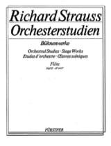 Richard Strauss - Orchesterstudien Bühnenwerke - Bd. 2 - Partition - di-arezzo.fr