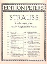 Orchesterstudien - Flöte Richard Strauss Partition laflutedepan.com