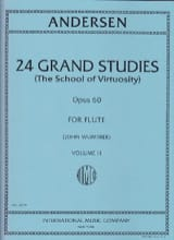 24 Grand studies - Volume 2 (School of virtuosity) op. 60 laflutedepan.com