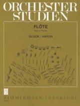 Traits d'Orchestre pour Flûte GLUCK Partition laflutedepan.com