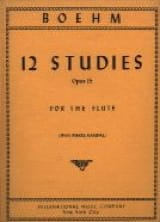Theobald Boehm - 12 Studies op. 15 - Sheet Music - di-arezzo.co.uk
