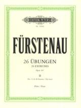 Anton Bernhard Fürstenau - 26 Übungen op. 107 - Bd. 2 - Noten - di-arezzo.de