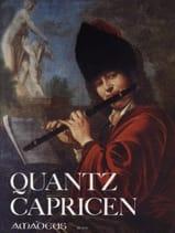 Capricen - Flöte Johann Joachim Quantz Partition laflutedepan.com