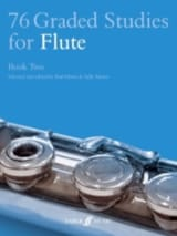 Harris Paul / Adams Sally - 76 Graded Studies For Flute Book 2 - Partition - di-arezzo.fr