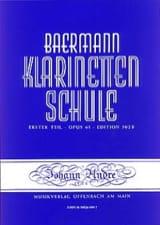 Carl Baermann - Klarinetten Schule op. 63 - Volume B - Partition - di-arezzo.fr