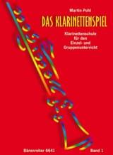 Das Klarinettenspiel - Bd. 1 Martin Pohl Partition laflutedepan.com