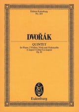 Antonin Dvorak - Quintett A-Dur, op. 81 (B 155) - Sheet Music - di-arezzo.co.uk