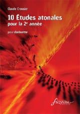 Claude Crousier - 10 atonal studies for the 2nd year - Sheet Music - di-arezzo.com