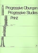 Progressive Übungen Heft 1 - Klarinette Alfred Prinz laflutedepan
