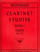 Ludwig Wiedemann - Clarinet Studies - Volume 1 - Partition - di-arezzo.fr
