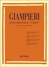 Alamiro Giampieri - Passi difficili e a solo – Volume 2 - Partition - di-arezzo.fr