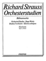 Richard Strauss - Orchesterstudien Bühnenwerke - Heft 2 - Klarinette - Partition - di-arezzo.fr
