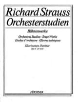 Richard Strauss - Orchesterstudien Bühnenwerke - Heft 2 –Klarinetten-Partitur - Partition - di-arezzo.fr