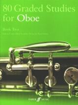 Davies John / Harris Paul - 80 estudios graduados para oboe - libro 2 - Partitura - di-arezzo.es