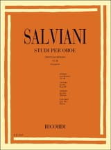 Clemente Salviani - Studi per oboe - Volume 3 - Sheet Music - di-arezzo.co.uk