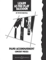 Learn as you play bassoon Piano acc. Peter Wastall laflutedepan.com