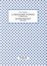Hans P. Keuning - 12 Moeilijke Etudes - Altblokfluit - Partition - di-arezzo.fr