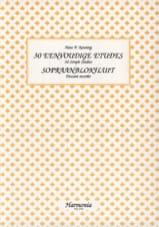 Hans P. Keuning - 30 Eenvoudige Etudes - Sopraanblokfluit - Partition - di-arezzo.fr