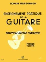 Enseignement pratique de la guitare - Volume 1 laflutedepan.com