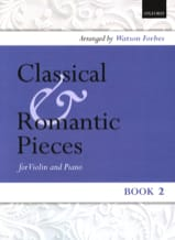 Classical and romantic pieces, Volume 2 Watson Forbes laflutedepan.com