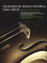 Coleccion de Musica Espanola Partition Violon - laflutedepan.com