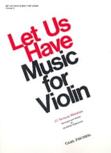 Let us have music for Violon, Volume 2 George Perlman laflutedepan