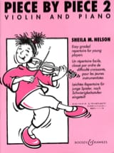 Sheila M. Nelson - Piece By Piece Violin Volume 2 - Sheet Music - di-arezzo.co.uk