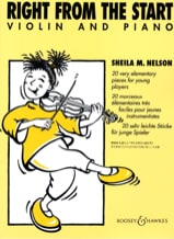 Right from the start - Violon Sheila M. Nelson laflutedepan.com