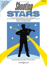 Shooting Stars - Violon et Piano Partition Violon - laflutedepan.com