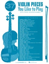 - 37 Violon Pieces You Like To Play - Partition - di-arezzo.fr