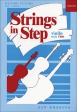 Strings in step, book 2 - Violin Jan Dobbins laflutedepan.com