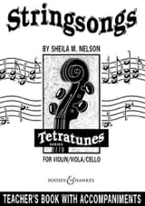 Stringsongs / Teacher's Book Sheila M. Nelson laflutedepan.com