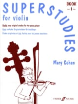 Mary Cohen - Superstudies Volume 1 - Violin - Sheet Music - di-arezzo.com