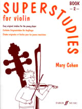 Mary Cohen - Superstudies Volume 2 - Violin - Partition - di-arezzo.fr