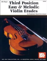 Third position easy and melodic violin etudes laflutedepan.com
