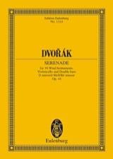 Antonin Dvorak - Serenade D-Moll, Opus 44 B 77) - Partition - di-arezzo.fr