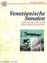 Venezianische Sonaten VIVALDI Partition Violon - laflutedepan.com