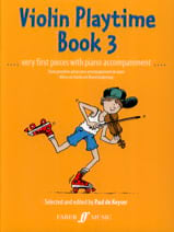 Violon Playtime book 3 - Paul de Keyser - Partition - laflutedepan.com