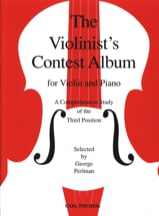 Violonists' contest Album George Perlman Partition laflutedepan