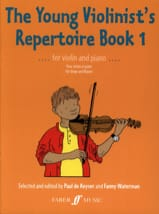 Keyser Paul de / Waterman Fanny - The young violonist's repertoire, book 1 - Sheet Music - di-arezzo.co.uk