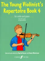 Keyser Paul de / Waterman Fanny - The Young Violinist's Repertoire Book 4 - Sheet Music - di-arezzo.co.uk