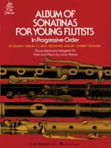 Album of Sonatinas for Young Flutists Louis Moyse laflutedepan.com