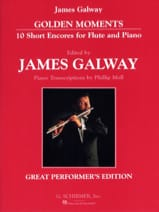 James Galway - Golden Moments - Flute And Piano - Partition - di-arezzo.fr