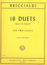 Giulio Briccialdi - 16 Duets op. 132 - Book 2 - 2 Flutes - Sheet Music - di-arezzo.co.uk
