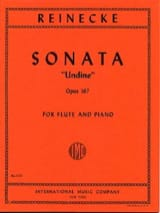Carl Reinecke - Sonata Undine op. 167 - Piano flute - Sheet Music - di-arezzo.co.uk