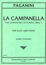 La Campanella From Concerto N°2, Op. 7 - Flûte et Piano - laflutedepan.com